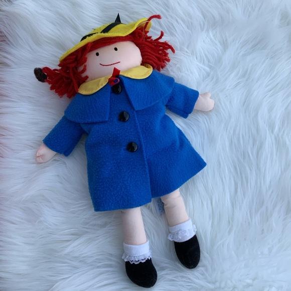 Madeline Doll Plushie soft dolly vintage